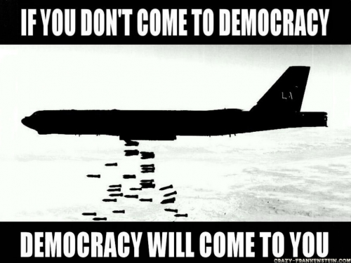 Democracy Coming your Way