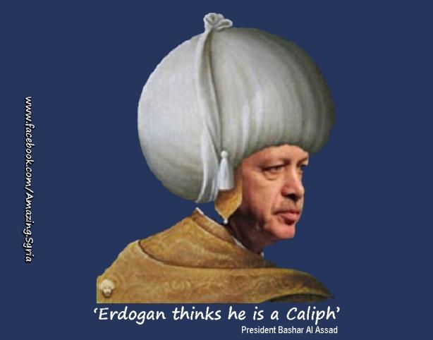 Islamist Caliph Erdogan